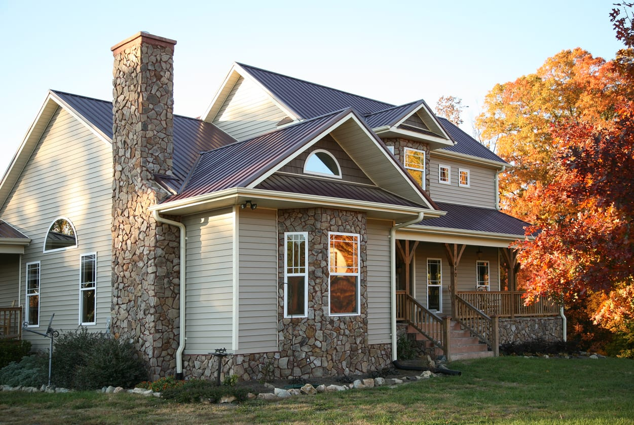 Metal roofing system in Mechanicsburg, Camp Hill, and Harrisburg PA.